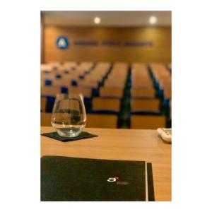 Auditorio. Compañía tecnológica
